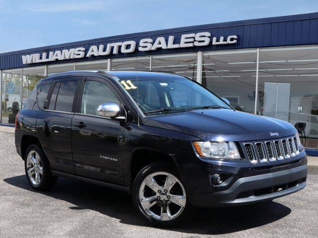 2011 Jeep Compass for sale at Williams Auto Sales, LLC in Cookeville TN
