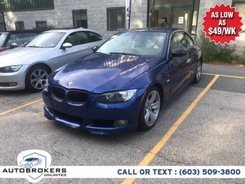 2008 BMW 3 Series for sale at Auto Brokers Unlimited in Derry NH