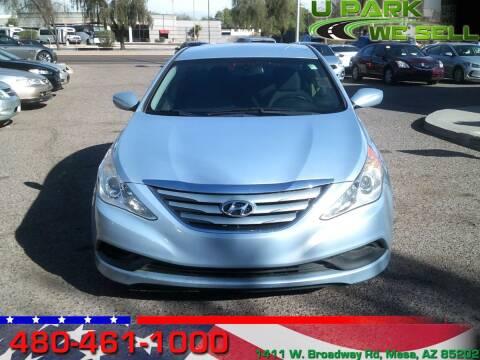 2014 Hyundai Sonata for sale at UPARK WE SELL AZ in Mesa AZ