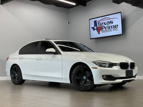2015 BMW 3 Series for sale at Texas Prime Motors in Houston TX