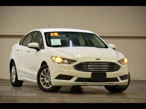 2018 Ford Fusion for sale at MGI Motors in Sacramento CA