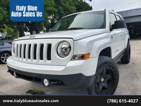 2015 Jeep Patriot for sale at Italy Blue Auto Sales llc in Miami FL