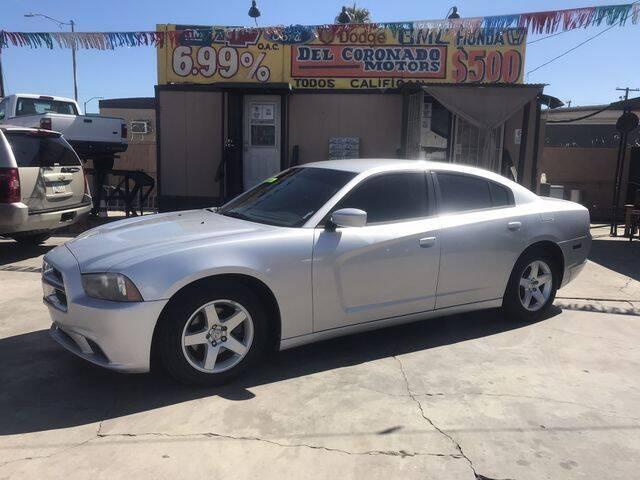 2012 Dodge Charger for sale at DEL CORONADO MOTORS in Phoenix AZ