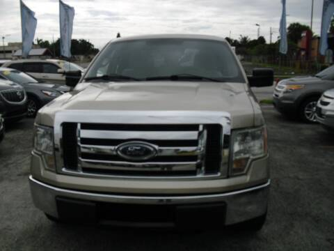 2010 Ford F-150 for sale at SUPERAUTO AUTO SALES INC in Hialeah FL