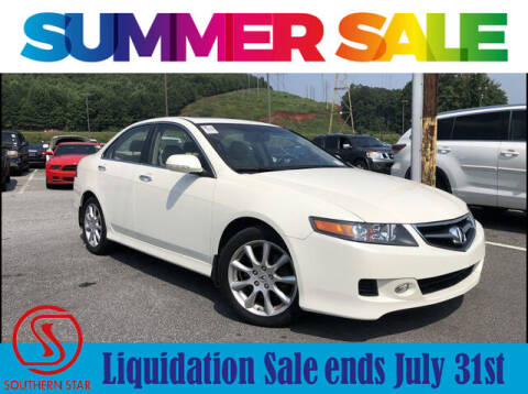 2008 Acura TSX for sale at Southern Star Automotive, Inc. in Duluth GA