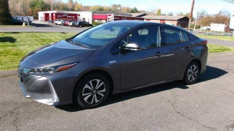 2019 Toyota Prius Prime for sale at DeNardo's Auto Sales in Westfield MA