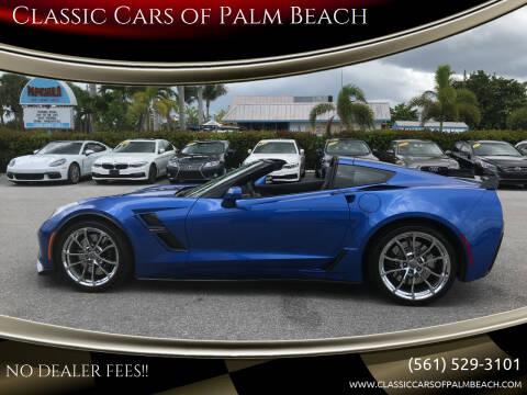 2019 Chevrolet Corvette for sale at Classic Cars of Palm Beach in Jupiter FL