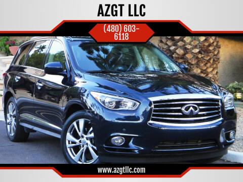 2015 Infiniti QX60 for sale at AZGT LLC in Phoenix AZ