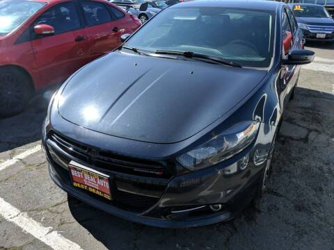 2013 Dodge Dart for sale at Best Deal Auto Sales in Stockton CA