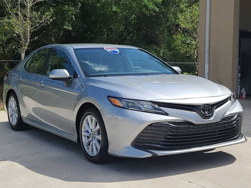 2019 Toyota Camry for sale at Jeff's Auto Sales & Service in Port Charlotte FL