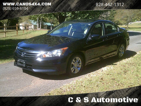 2011 Honda Accord for sale at C & S Automotive in Nebo NC