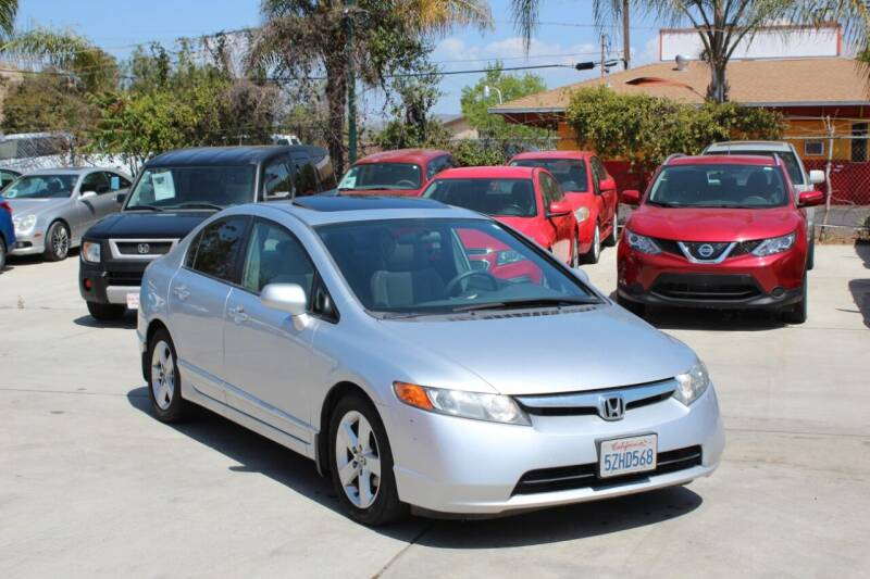 2007 Honda Civic for sale at Car 1234 inc in El Cajon CA