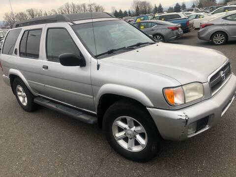 2003 Nissan Pathfinder for sale at Blue Line Auto Group in Portland OR
