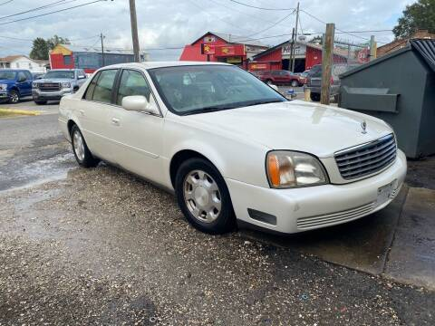 2001 Cadillac DeVille for sale at WMS AUTO SALES in Jefferson LA