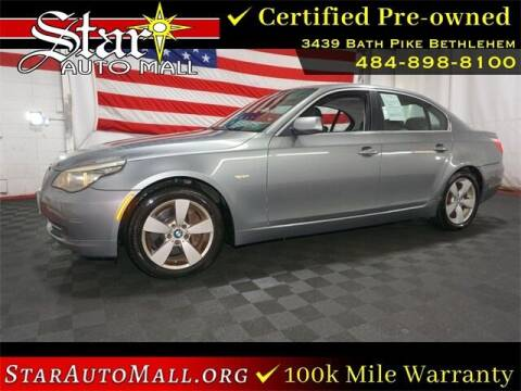 2008 BMW 5 Series for sale at STAR AUTO MALL 512 in Bethlehem PA