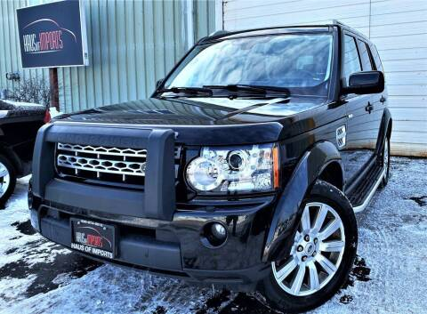 2012 Land Rover LR4 for sale at Haus of Imports in Lemont IL