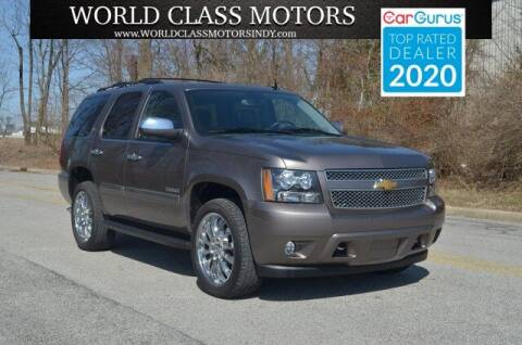 2012 Chevrolet Tahoe for sale at World Class Motors LLC in Noblesville IN