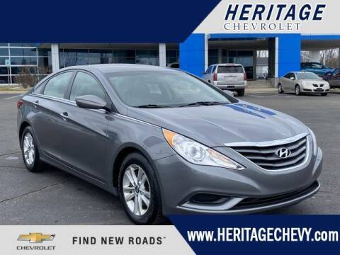 2012 Hyundai Sonata for sale at HERITAGE CHEVROLET INC in Creek MI