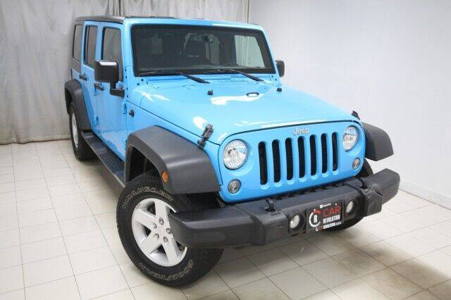 2017 Jeep Wrangler Unlimited for sale at EMG AUTO SALES in Avenel NJ