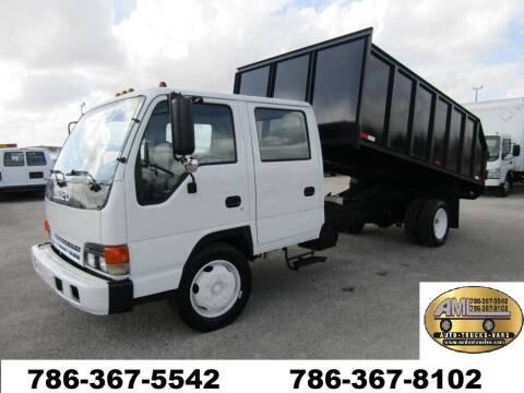 2003 Isuzu NQR Crew Cab *NPR* for sale at AML AUTO SALES - Dump Trucks in Opa-Locka FL