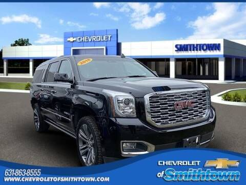 2018 GMC Yukon XL for sale at CHEVROLET OF SMITHTOWN in Saint James NY