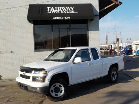 2012 Chevrolet Colorado for sale at FAIRWAY AUTO SALES, INC. in Melrose Park IL