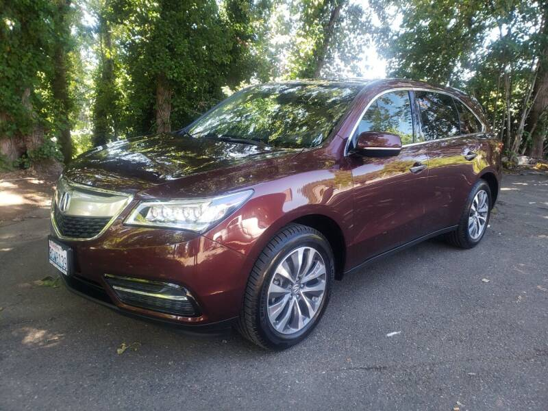 2016 Acura MDX for sale at Painlessautos.com in Bellevue WA