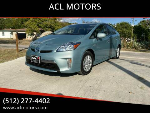 2014 Toyota Prius Plug-in Hybrid for sale at ACL MOTORS in Austin TX