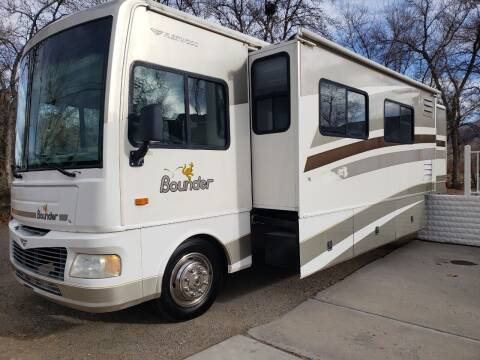 2006 FLEETWOOD BOUNDER CLASS A M-35 E ANNIVERSARY for sale at Freds Auto Sales LLC in Carson City NV