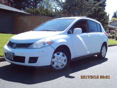 2007 Nissan Versa for sale at Redline Auto Sales in Vancouver WA