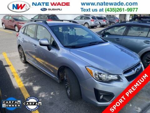 2014 Subaru Impreza for sale at NATE WADE SUBARU in Salt Lake City UT
