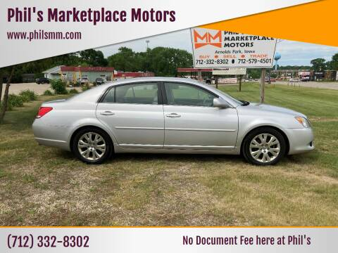 2010 Toyota Avalon for sale at Phil's Marketplace Motors in Arnolds Park IA