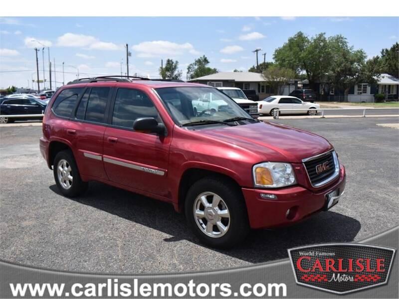 2002 GMC Envoy for sale at Carlisle Motors in Lubbock TX