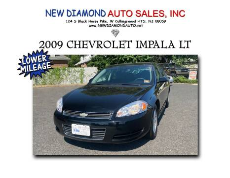 2009 Chevrolet Impala for sale at New Diamond Auto Sales, INC in West Collingswood Heights NJ
