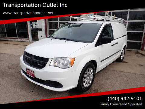 2014 RAM C/V for sale at Transportation Outlet Inc in Eastlake OH