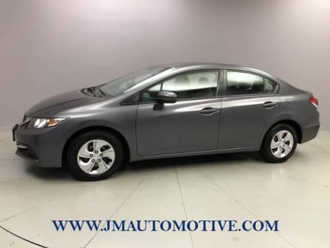 2014 Honda Civic for sale at J & M Automotive in Naugatuck CT