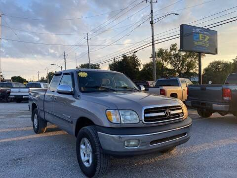2000 Toyota Tundra for sale at 2EZ Auto Sales in Indianapolis IN