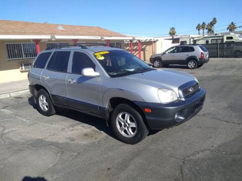 2002 Hyundai Santa Fe for sale at Car Spot in Las Vegas NV