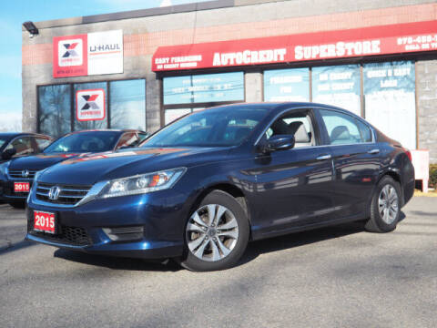 2015 Honda Accord for sale at AutoCredit SuperStore in Lowell MA