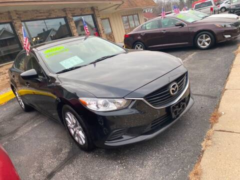 2015 Mazda MAZDA6 for sale at Zs Auto Sales in Kenosha WI