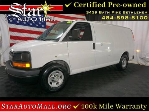 2012 Chevrolet Express Cargo for sale at STAR AUTO MALL 512 in Bethlehem PA