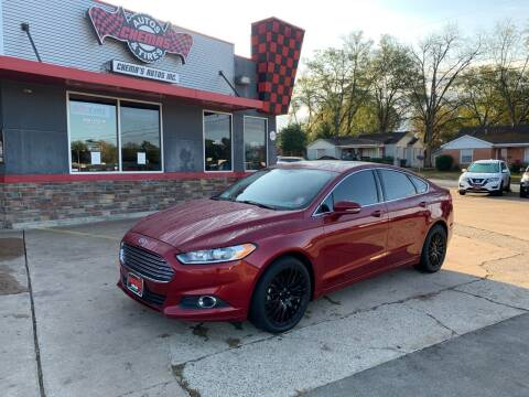 2014 Ford Fusion for sale at Chema's Autos & Tires in Tyler TX