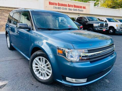 2018 Ford Flex for sale at North Georgia Auto Brokers in Snellville GA