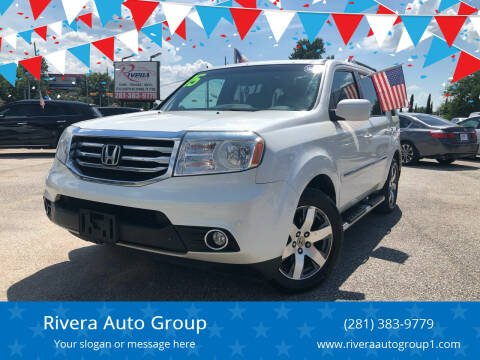 2015 Honda Pilot for sale at Rivera Auto Group in Spring TX