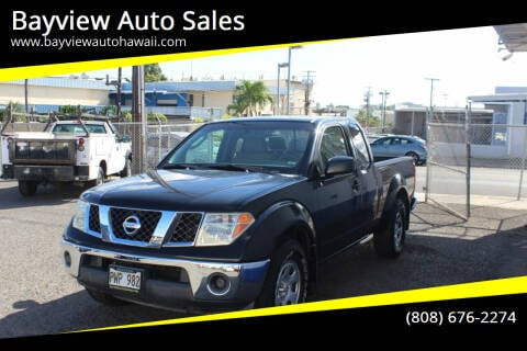2008 Nissan Frontier for sale at Bayview Auto Sales in Waipahu HI