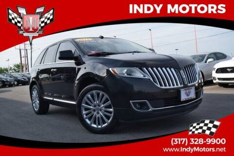 2011 Lincoln MKX for sale at Indy Motors Inc in Indianapolis IN