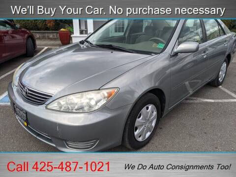 2006 Toyota Camry for sale at Platinum Autos in Woodinville WA