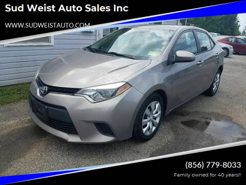 2014 Toyota Corolla for sale at Sud Weist Auto Sales Inc in Maple Shade NJ