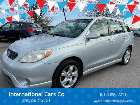 2007 Toyota Matrix for sale at International Cars Co in Murfreesboro TN