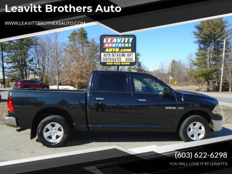 2009 Dodge Ram Pickup 1500 for sale at Leavitt Brothers Auto in Hooksett NH